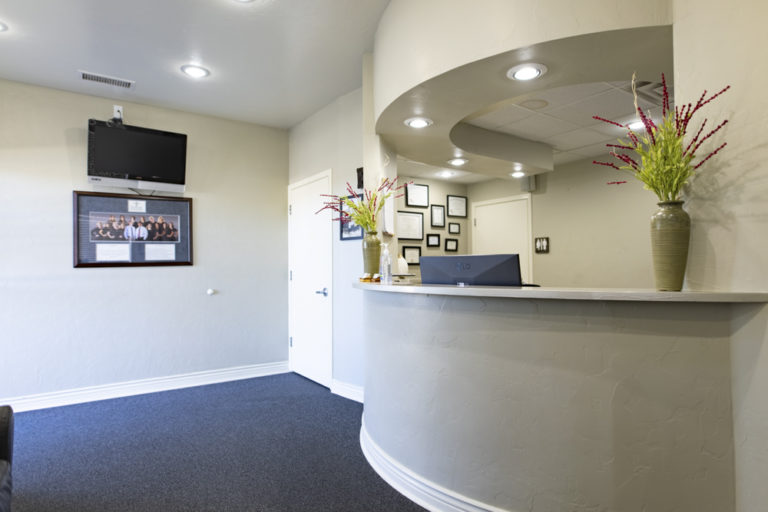 The lobby at Horizon Dental Group in Prescott Valley, AZ