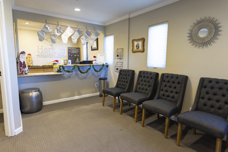 The lobby at Horizon Dental Group in Prescott, AZ